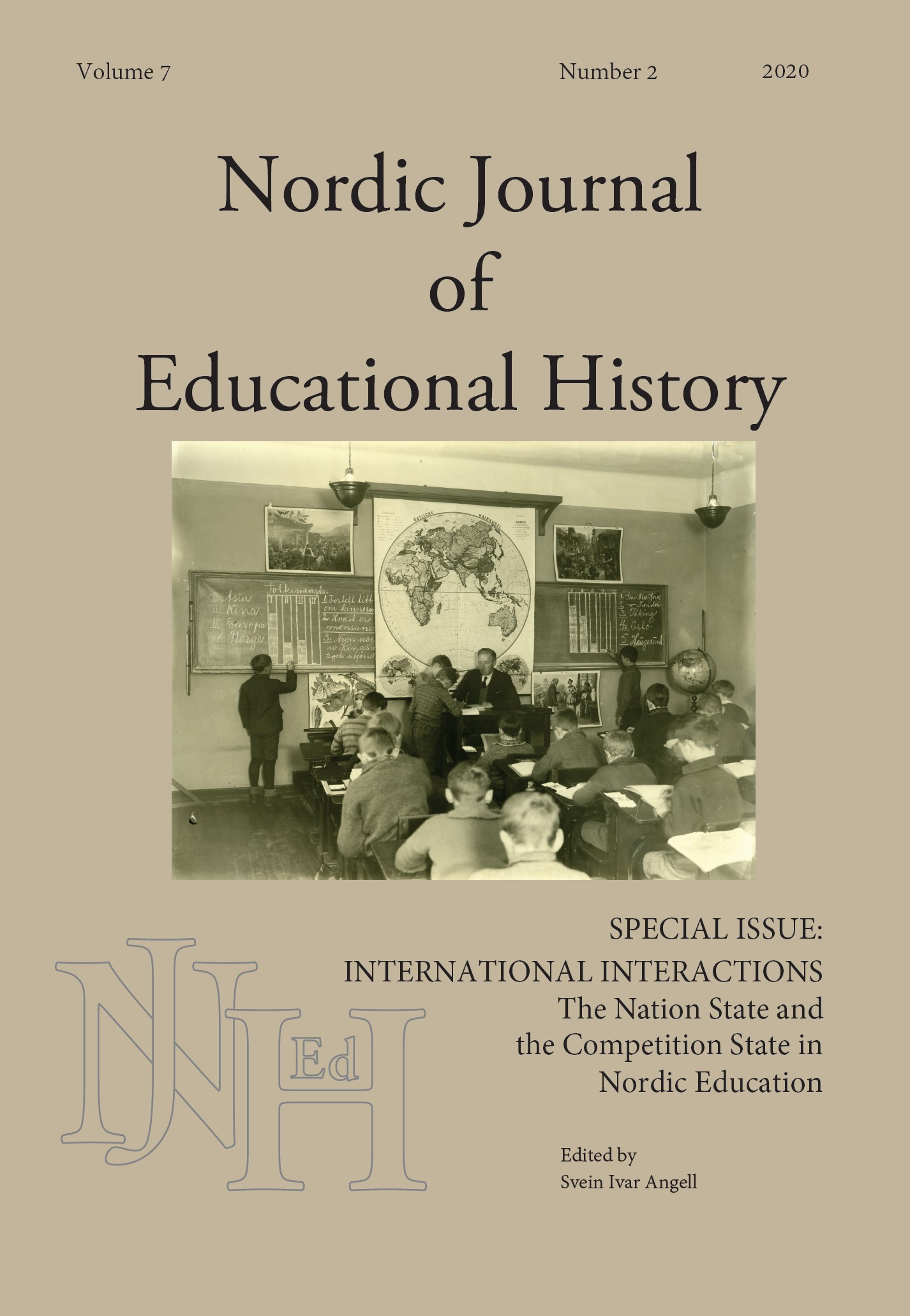 View Vol. 7 No. 2 (2020): Special Issue: International Interactions – the Nation State and the Competition State in Nordic Education